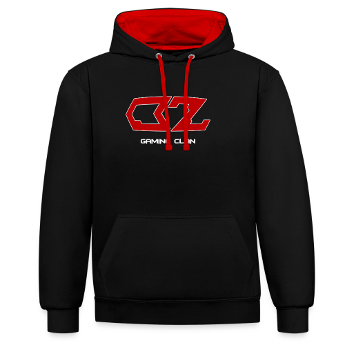 ozother0003 - Contrast Colour Hoodie
