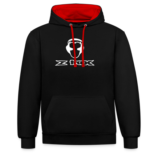 Z-Trax - Contrast Colour Hoodie