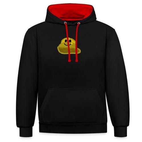 EinfachMC-Logo - Kontrast-Hoodie
