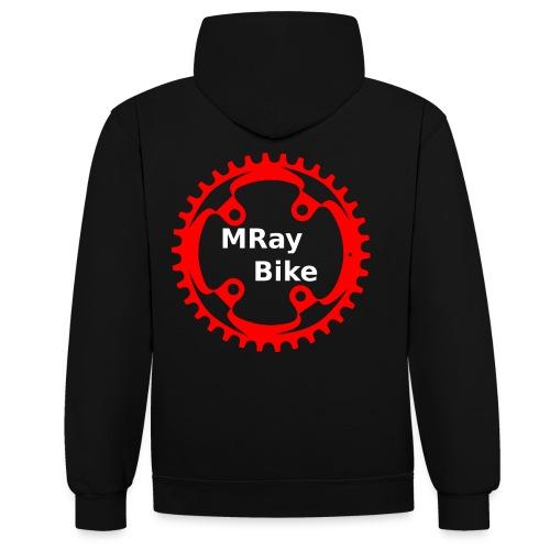 MRay Merch - Kontrast-Hoodie