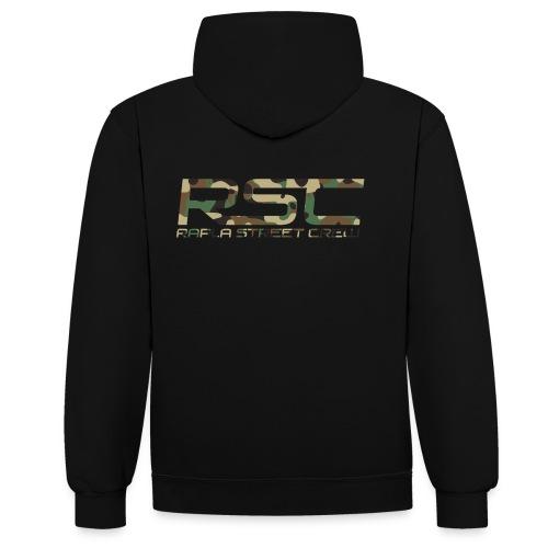 RSCcamo - Contrast Colour Hoodie