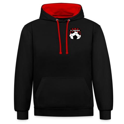 KF Shqiponja Store - Kontrast-Hoodie