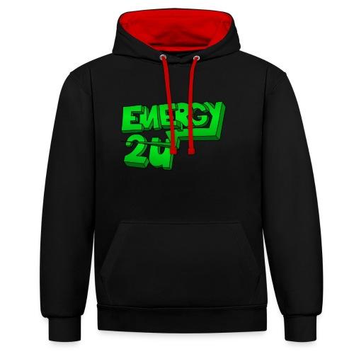af geen background - Contrast hoodie