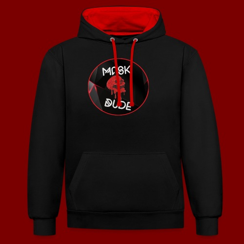 Mask Dude - Contrast Colour Hoodie
