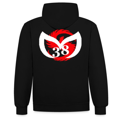 lOGO MS38BL png - Sweat-shirt contraste