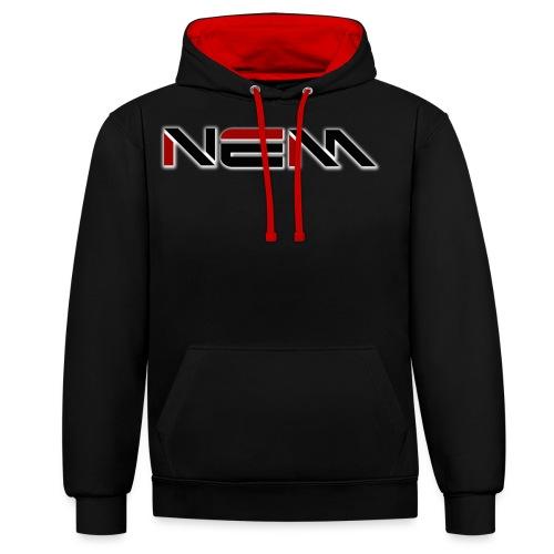 NEM LOGO - Contrast Colour Hoodie