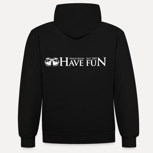 Logo Have Fun Malfurion - Kontrast-Hoodie