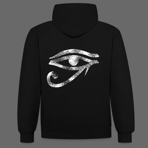The eye catcher. - Contrast Colour Hoodie