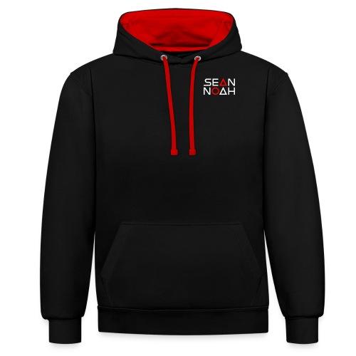logo-cap-ws - Kontrast-Hoodie