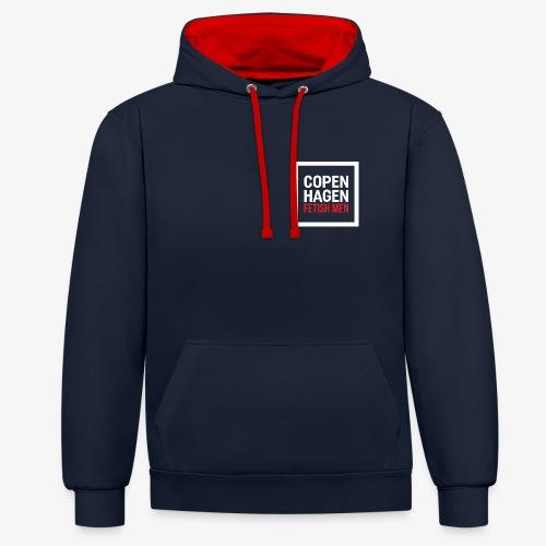 Copenhagen Fetish Men Jacket - Kontrast-hættetrøje