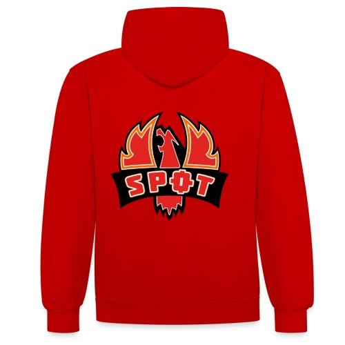 spot logo png - Kontrast-hættetrøje