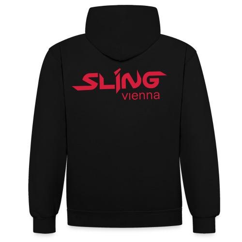 sling sexy muscle shirt - Kontrast-Hoodie