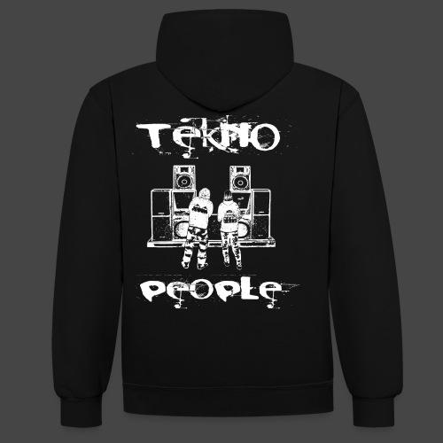personnes Tekno - Sweat-shirt contraste