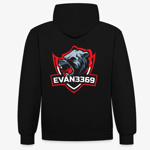 Evan3369 Grizzly GF - Sweat-shirt contraste