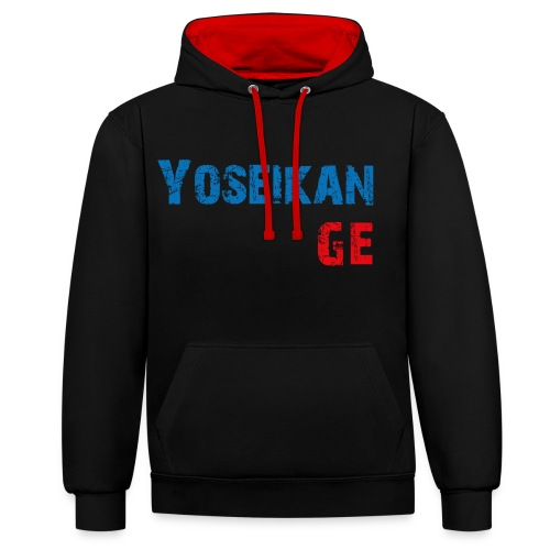 YBG - Sweat-shirt contraste