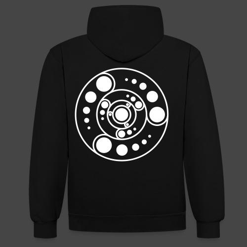 corp cercle 23 - Sweat-shirt contraste