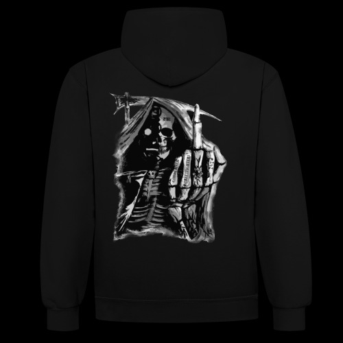 Condemned Streetfighters Reaper - Contrast Colour Hoodie