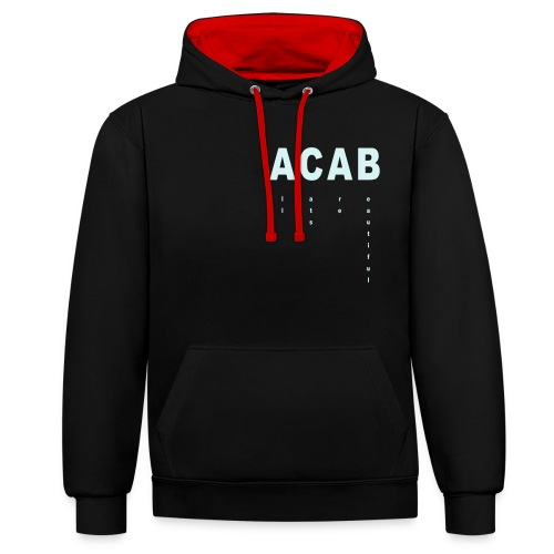 All Cats Are Beautiful - Kontrast-Hoodie