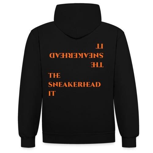 The_sneakerhead_it official merchandise - Felpa con cappuccio bicromatica