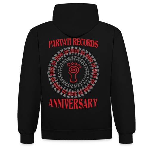 Parvati Records Anniversary - Contrast Colour Hoodie