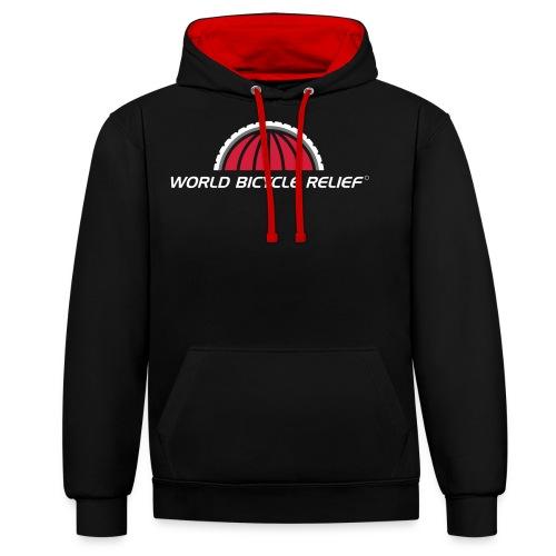 WBR Logo - Contrast Colour Hoodie