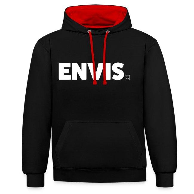 Envis Logo Text Plus Rygg Vit