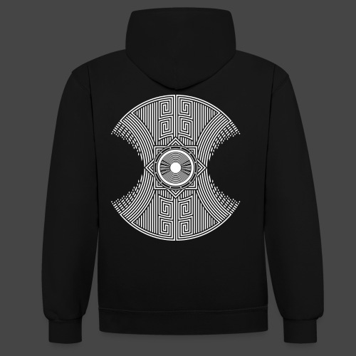 spirale Maya - Sweat-shirt contraste