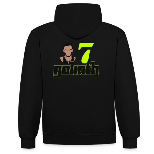 Goliath Style 07 - Contrast hoodie