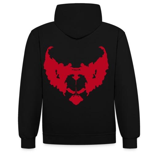 eddie de clown - Contrast hoodie