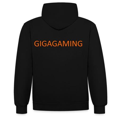 GIGAGAMING - Kontrast-hættetrøje