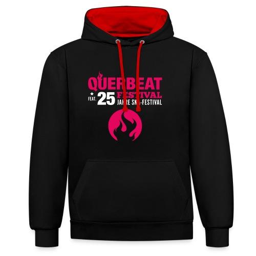 Shirt-02 - Kontrast-Hoodie