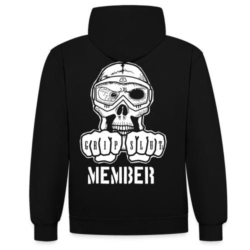 Logo Member - Kontrast-Hoodie