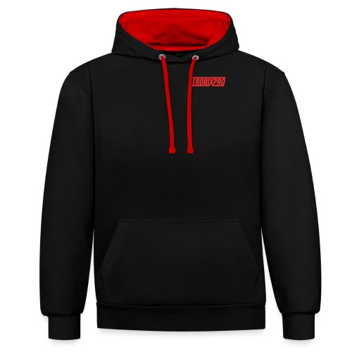 TP RED - Contrast Colour Hoodie