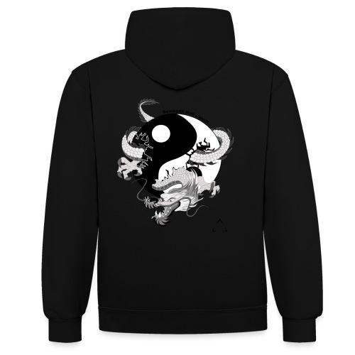 bewegen met passie - Contrast hoodie