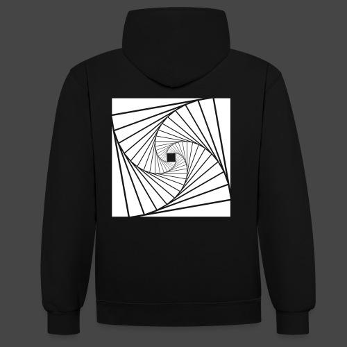 spirale 23 - Sweat-shirt contraste