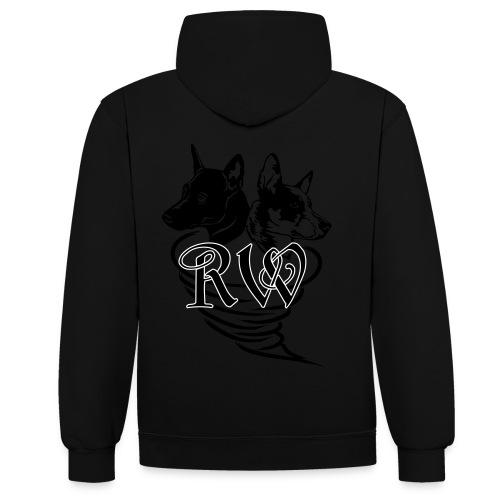 Logo_Royal_Williwaws - Kontrast-Hoodie