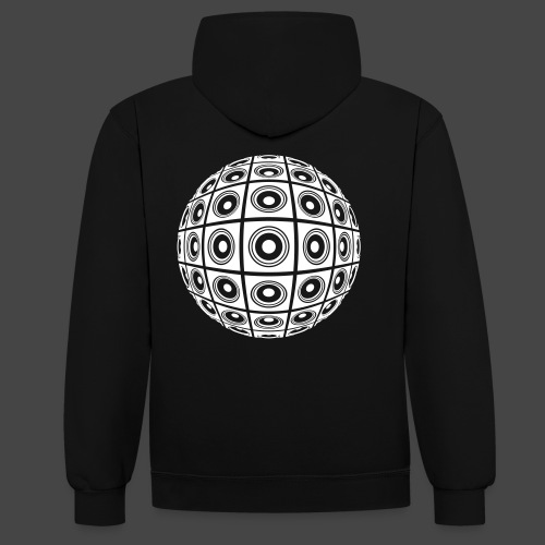 balle sonore - Sweat-shirt contraste
