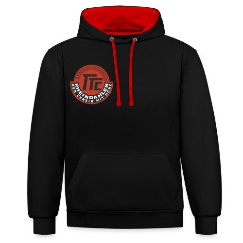 TTC Logo Finale png - Kontrast-Hoodie