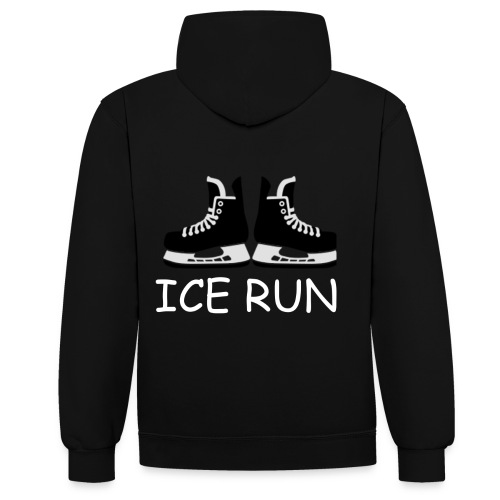 Ice Run - Sweat-shirt contraste