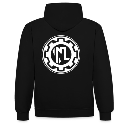 machinakugg3Black - Contrast Colour Hoodie