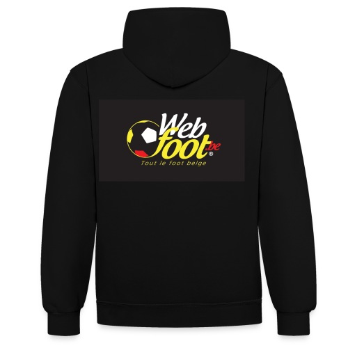 webfoot.be - Sweat-shirt contraste