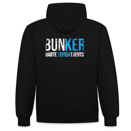 Bunker & Harte Zeiten Supporter - Kontrast-Hoodie
