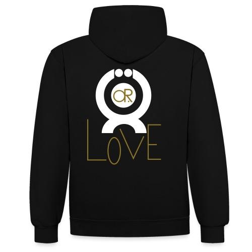 O.ne R.eligion O.R Love - Sweat-shirt contraste