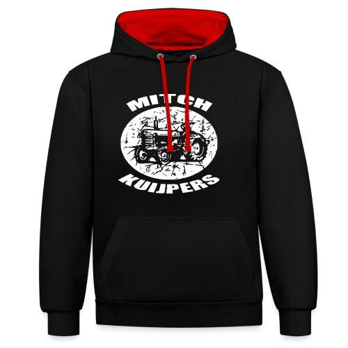 farmer MITCH klein - Contrast hoodie