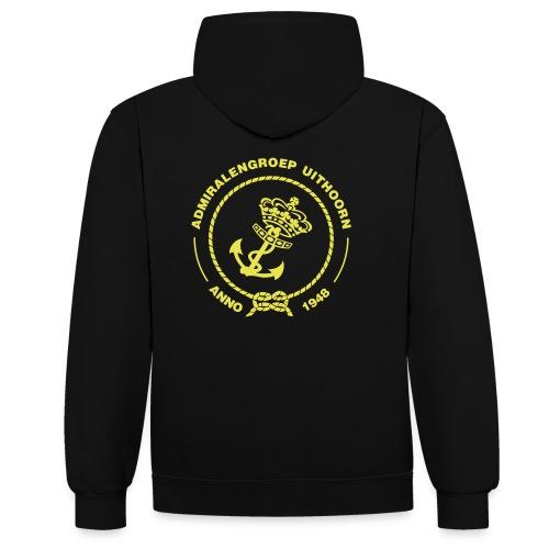 logo admiralengroep 2012 - Contrast hoodie