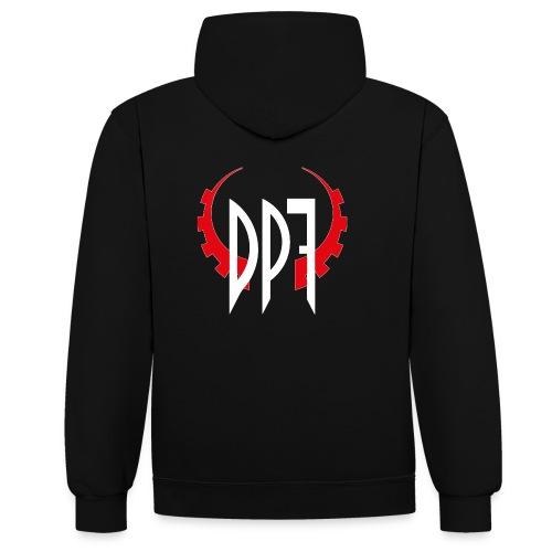 dpf - Kontrast-Hoodie
