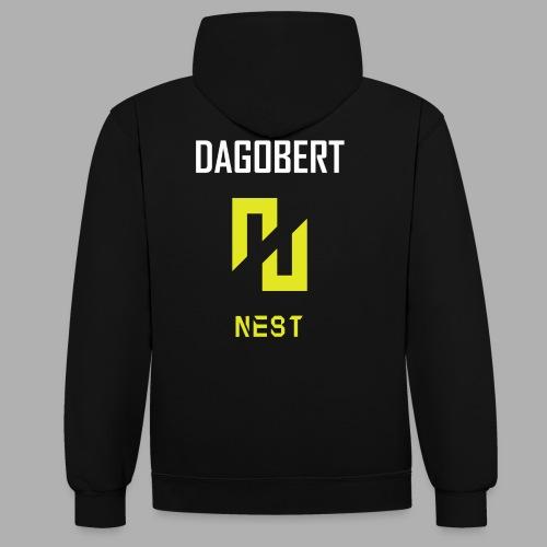 ENEMY NEST joueur DAGOBERT - Sweat-shirt contraste