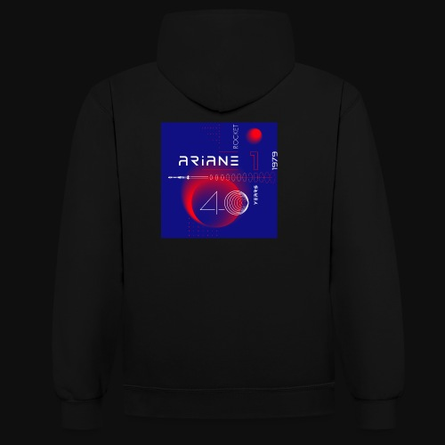 ARIANE 1 - 40 years of space - Contrast Colour Hoodie
