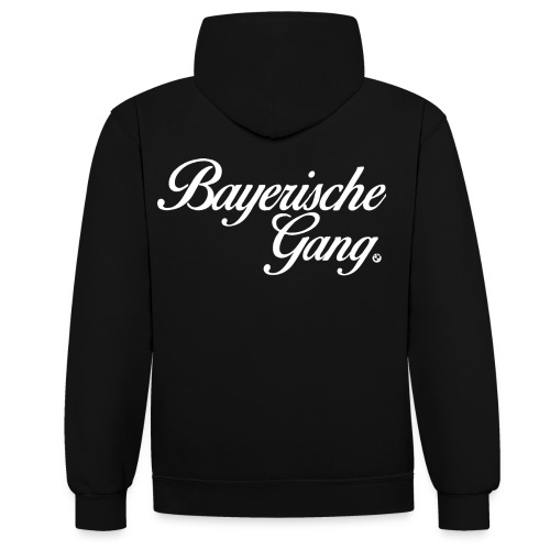 bayerische png - Contrast Colour Hoodie