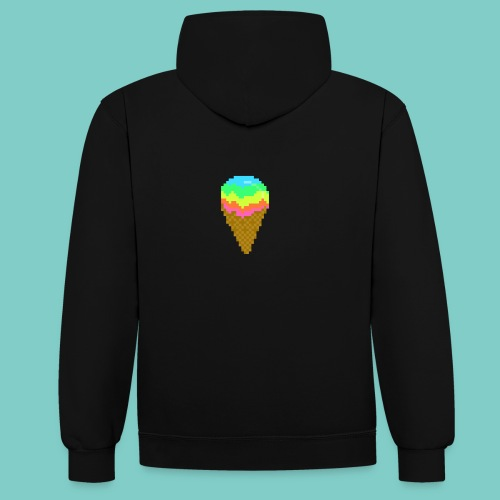 Glace - Sweat-shirt contraste